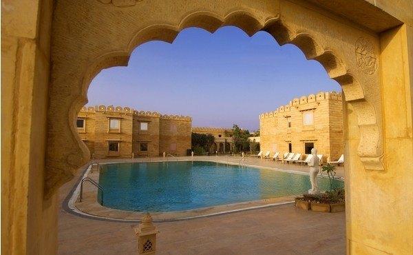 Fort Rajwada in Jaisalmer, Rajasthan