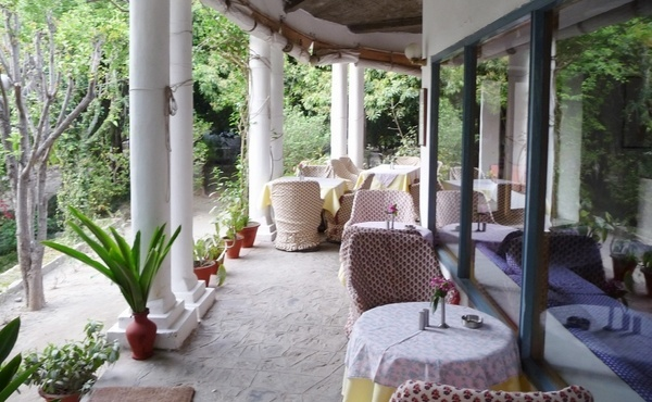 The Glass House on the Ganges in Rishikesh, Uttaranchal