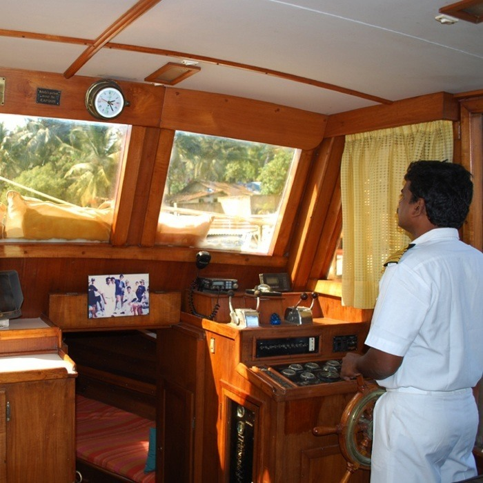 The Solita Yacht in Goa